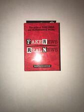 Fake News Real News Card Game
