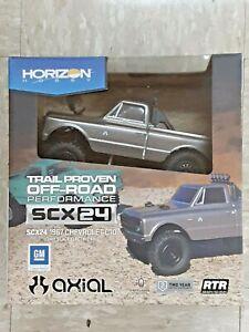 Axial SCX24 1967 Chevrolet C10 1/24 4WD RTR Scale Mini Crawler Silver AXI00001T2