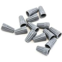 1000 pcs Grey Screw On Wire Electrical Connectors Twist-On Easy Screw Pack