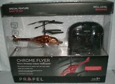 PROPEL REMOTE CONTROL HELICOPTER CHROME FLYER MICRO WIRELESS New! Free Shipping!