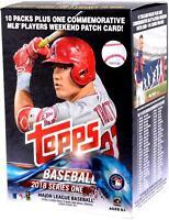 2018 Topps Baseball Series 1 Factory Sealed 10 Pack Blaster Box - Fanatics