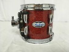 Pearl Masters Maple Complete Tom 8x7 Vermilion Sparkle Lacquer - Mct0807t/c346
