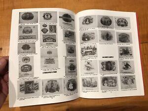 TOBACCO Ephemera CEREBRO Auction Catalog Cigar Boxes Advertising Cigarettes 1997