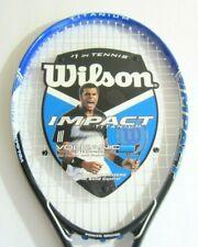 "Wilson Impact Volcanic Tennis Racket 43/8"" (R) Power Bridge"