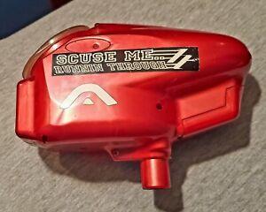 Halo B hopper red shell