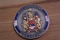 Royal Canadian Navy Naval Replenishment Unit Coxswain Challenge Coin