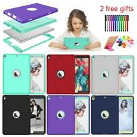 iPad Armor Shockproof Heavy Duty Case Cover For Mini 1 2 3 4 5 Air Pro 9.7 10.5