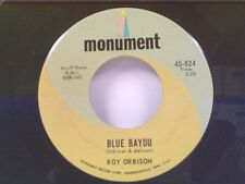 "ROY ORBISON ""BLUE BAYOU / MEAN WOMAN BLUES"" 45"