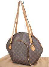 Authentic LOUIS VUITTON Ellipse GM Monogram Shoulder Bag Purse #26400