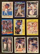 LOT of 9 KEN GRIFFEY JR 1991 MINT CARDS