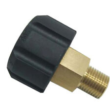 Release Pressure Washer Hose Adaptor Connector Coupling Adapter High Hardness