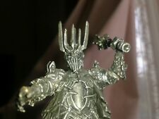 Lotr Warhammer The Dark Lord Sauron Out of Production Professionally Painted