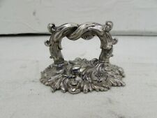 Antique Georgian Silver Plate Dome Meat Cover or Tureen Handle (Matthew Boulton)