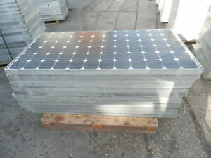 Solarmodule  Photovoltaikplatten - Photovoltaikmodule 180 W gebraucht