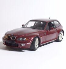 Ut auto sportive Classico BMW z3 2.8 Coupe IN Rosso Vinaccia laccati, OVP, 1:18, k002