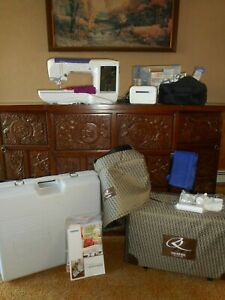 Brother Innov-`is Quattro 6000D Disney Sewing & Embroidery Machine A Lot! Extras