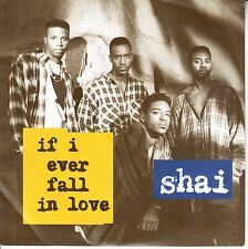 "SHAI  If I Ever Fall In Love PICTURE SLEEVE 7"" 45 record + juke box strip RARE!"