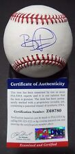 BRANDON PHILLIPS CINCINNATI REDS SIGNED AUTO ML BASEBALL PSA/DNA COA #Z69780