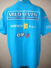 2002 2003 Mild Seven Renault F1 Formula 1 team Kappa shirt polo (Size L)