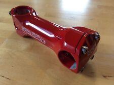"Brand New Vintage Race Face Deus 110mm RED Bike Stem 1 1/8"" 25.4 ±5° Rare!!"