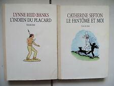 Sefton Le fantôme et moi Reid Banks L'indien du placard Ecole des loisirs