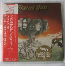 STATUS QUO - Quo + 1 BONUS JAPAN SHM MINI LP CD OBI NEU! UICY-75694