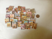 Lot de 5 magazines miniatures pour vitrine, poupée.....