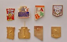 Vintage 1984 L.A. Summer Olympics Collectors pin set: with U.S. Olympic Team pin