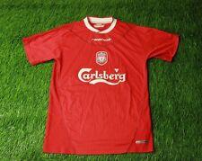 LIVERPOOL ENGLAND 2002-2004 FOOTBALL SHIRT JERSEY HOME REEBOK ORIGINAL SIZE XS