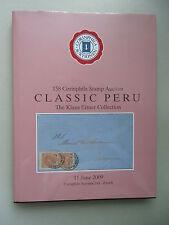 158 Corinphila Stamp Auction Classic Peru Klaus Eitner Collection Briefmarken