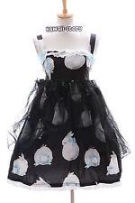 JSK-03 Hase Rabbit Bunny Schwarz Gothic Lolita Kleid Stretch dress Cosplay
