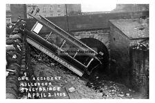 pt0427 - Tram Accident , Millbrook , Stalybridge , Lancashire  - photo 6x4