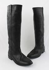 Golden Goose Women's Black Leather Low Heel Knee High Boot Shoe 39  9
