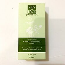 Kiss My face Pore shrink Deep Cleansing Mask- New In Box