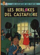 Hergé. Tintin Les Bijoux de la Castafiore. En wallon de Nivelles. 2005. EO n°
