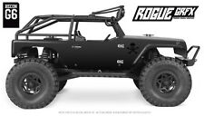 Axial G6 Wrangler Jeep Body Graphic Wrap Skin- Faux Carbon
