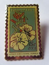 Antioch Dunes Evening Primrose Flower 1979 15c Sc #1786 Stamp Pin Pinback New