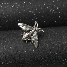 High Quality Brooches Small Fresh Bee Brooch Retro Men Metal Suit Collar Pin