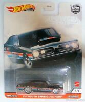 Hot Wheels Premium - Plymouth Barracuda Hemi - Car Culture - Real Riders
