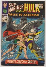 Tales to Astonish #88 - Incredible Hulk & Sub-Mariner, Very Good Condition