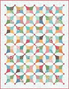 Riley Blake Designs Flea Market Windows Boxed Quilt Kit (KTB-18049)