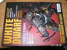 White Dwarf n°222 Warhammer 40.000 Citadel Seigneur des anneaux Horus