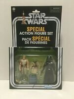 Star Wars Special Action Figure set / Cave of Evil / Luke,  Yoda, Darth Vader