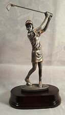 GOLF/GOLFER FEMALE RESIN TROPHY HOLE IN ONE  INDIVIDUAL AWARD - FREE ENGRAVING!!