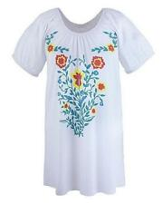Short Sleeve Boho Floral Tops for Women