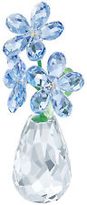 Swarovski Flower Dreams Forget-me-not Blue Flowers in Vase Ornament 5254325