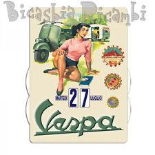 3634 - CALENDARIO PERPETUO VESPA IN CAMPAGNA