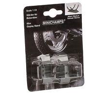 Minichamps Motorbike Stand (Medium & Narrow GP125/250) 2 Piece Set - 1/12 Scale