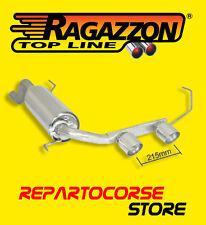 RAGAZZON TERMINALI SCARICO CENTRALI 2 / 90mm ALFA ROMEO MITO 1.4 TB 88kW 09/2008