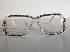 Cazal Vintage Eyeglasses - Nos- Model 318 - Col. 652 - Gold & Marble Green -